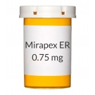 Mirapex ER 0.75mg Tablets