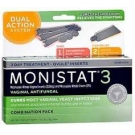 Monistat 3 Cream Ovule Kit- 3oz