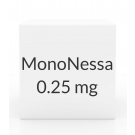 MonoNessa 0.25mg-0.035mg Tablets - 28 Tablet Pack