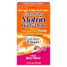 Motrin Infants' Drops Pain Reliever/Fever Reducer Berry Flavor- .5oz