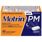 Motrin PM Coated Caplets- 40ct