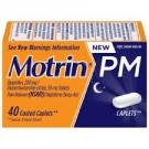 Motrin PM Coated Caplets- 40ct