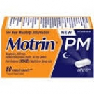 Motrin PM Coated Caplets- 80ct