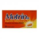 Motrin IB Ibuprofen 200mg Caplets- 50ct