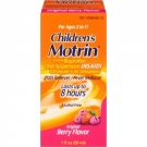 Motrin Children's Ibuprofen Oral Suspension Berry Liquid- 1oz