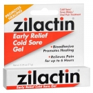 Zilactin Cold Sore Relief Gel - 0.25 oz