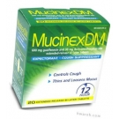 Mucinex DM 12 Hour - 20 Tablets