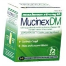 Mucinex DM Expectorant and Cough Suppressant 1200mg Extended-Release - 14 Tablets