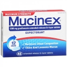 Mucinex Maximum Strength Expectorant Tablets- 42ct