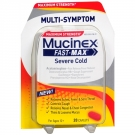 Mucinex Fast-Max Severe Congestion & Cold Caplets- 20ct