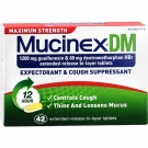 Mucinex DM Max Strength Tablet 42 ct
