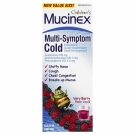 Children's Mucinex Multi-Symptom Cold, Berry- 4oz