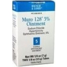 Muro-128  5% Eye Ointment 2X3.5Gm