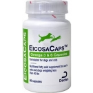 EicosaCaps Omega 3 & 6 Capsules for Dogs & Cats up to 40lbs- 60ct