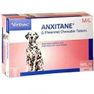 Anxitane M and L (L-Theanine) Chewable Tablets for Medium and Large Dogs- 30ct