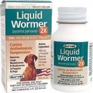 Liquid Wormer 2X Canine Anthelmintic Suspension- 2oz