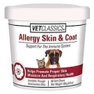 NaturVet Allergy Soft Chews for Skin & Coat- 90ct