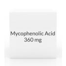 Mycophenolic Acid 360mg Tablets