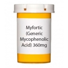 Myfortic (Generic Mycophenolic  Acid) 360mg Tablets