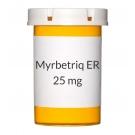 Myrbetriq ER 25mg Tablets