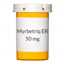 Myrbetriq ER 50mg Tablets, 30 Count Bottle