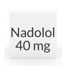 Nadolol 40mg Tablets (Greenstone)