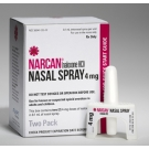 Narcan 4mg/0.1ml Nasal Spray- 2 x 0.1ml Bottles