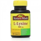 Nature Made L-Lysine 500 mg Tablets 100ct
