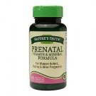 Nature's Truth Prenatal Vitamin & Mineral Formula Capsules - 60ct
