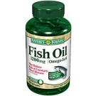 Nature's Bounty Fish Oil Softgels - 100 Softgels