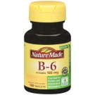 Nature Made Vitamin B-6 100 mg Dietary Supplement Tablets - 100ct