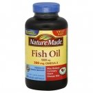 Nature Made Fish Oil 1000mg with Omega-3 300mg Liquid Softgels 200ct