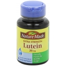 Nature Made Extra Strength Lutein 20mg Softgels 30ct