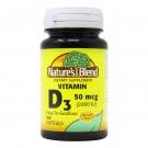 Nature's Blend Vitamin D3 50mcg (2000IU) 100ct Softgels