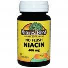 Nature's Blend Niacin No Flush 400mg, 60ct Capsules