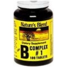 Natures Blend B Complex #1 Tablets 100ct