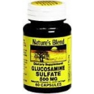 Natures Blend Glucosamine Sulfate 500 mg Capsules 60ct