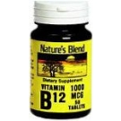 Natures Blend Vitamin B12 1000 mcg Tablets 50ct