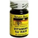 Natures Blend Vitamins For Hair Capsules 50ct