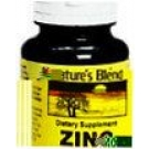 Natures Blend Zinc 100 mg Tablets 100ct
