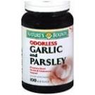 Natures Bounty Garlic and Parsley Softgels 100ct