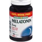 Natures Bounty Melatonin 1 mg Tablets - 90