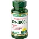 Natures Bounty Vitamin D-3 1000 IU Softgels  - 200ct