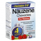 Nauzene Chewables for Nausea, Wild Cherry- 40ct
