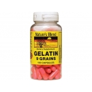 Nature's Blend Gelatin 9 Grains Capsules - 100ct