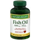 Nature's Bounty Fish Oil 1200mg Softgels, 120ct