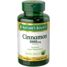 Nature's Bounty Cinnamon 1000 mg Dietary Supplement Capsules - 100ct