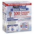 NeilMed Sinus Rinse Saline Nasal Rinse Premixed Packets - 100ct