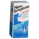 Neo-Synephrine Spray Regular Strength 0.5oz(15ml)