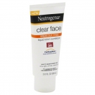 Neutrogena Clear Face Break-Out Free SPF30 Liquid-Lotion - 3.0 oz